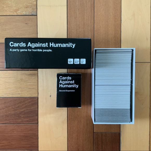 Cards Against Humanity & 2nd Expansion Pack